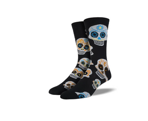 "Men's ""Big Muertos Skull"" Socks"