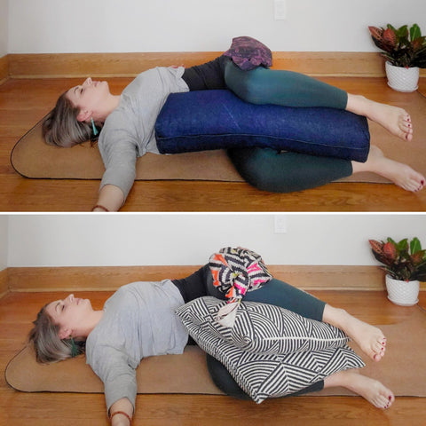 Yoga Bolster Alternative - Love My Mat