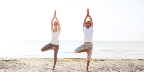 Yoga Outside  Stress Relief