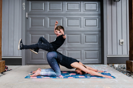 Family Yoga with Nicole Lawson of Supported Soul