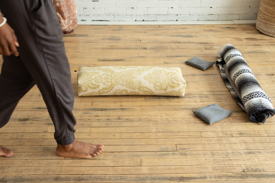 How to use yoga props at home