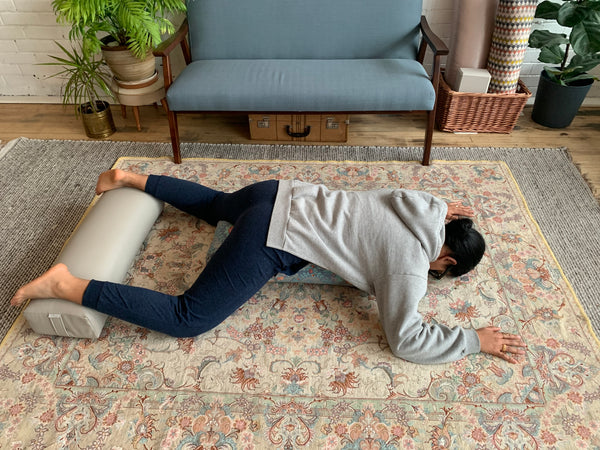 Relieve back pain with restorative yoga poses