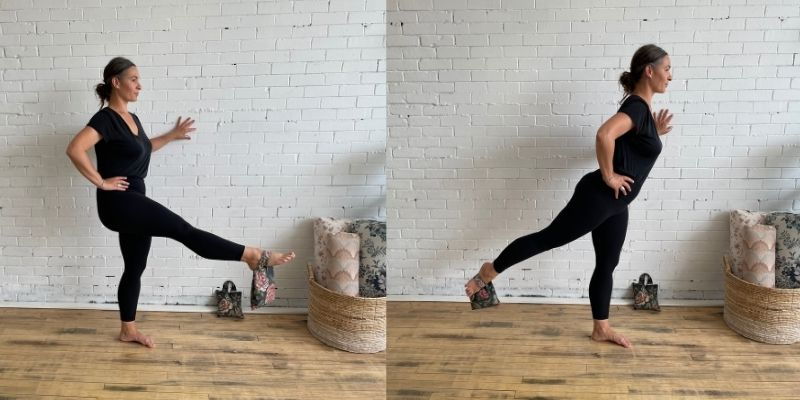 Leg Lifts - Yoga with Weights