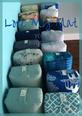 Cotton Yoga Bolsters made in Ontario, Canada. For Wholesale Yoga Studios.