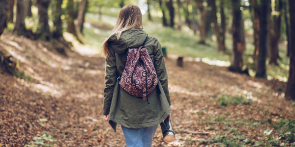 Reduce stress with a mindful walk