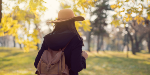 Present Fall Leaves Autumn Enjoy Walking Alleviate Soothe Soothing Fresh Air Relax Relaxing Migraine Remedies