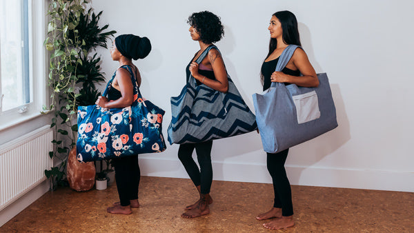 Extra Large Yoga Prop Bags sustainably made in Canada