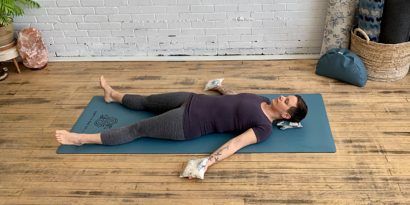 How to support yourself in Savasana