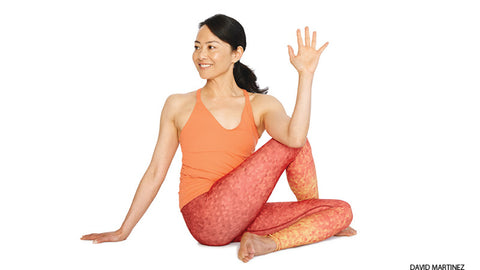 Yoga Twist Pose for Stiff Backs