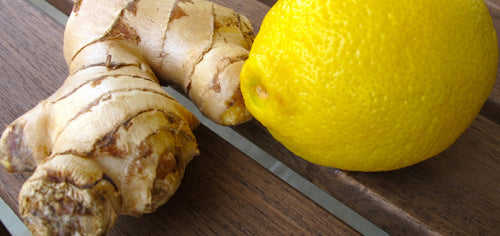 Lemon & Ginger Infused Water Recipe