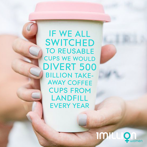 Reducing Waste to Fight Climate Change - One Cup At A Time