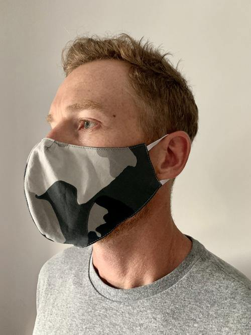 Cotton Face Mask for Covid Protection