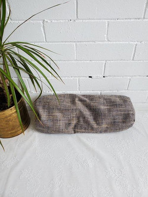 Small yoga bolster for yin and restorative