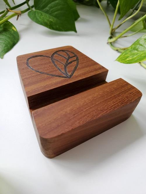 Handcrafted wood products