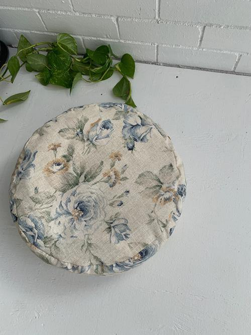 Floral Meditation Cushion made in Canada