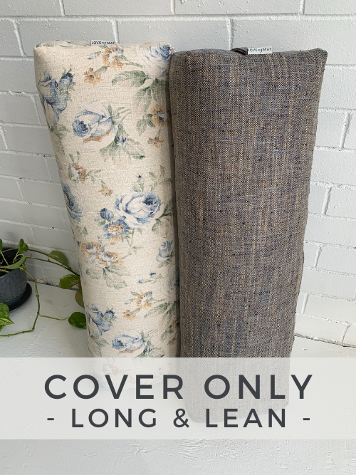 Long & Lean Bolster - Cover Only - - Love My Mat