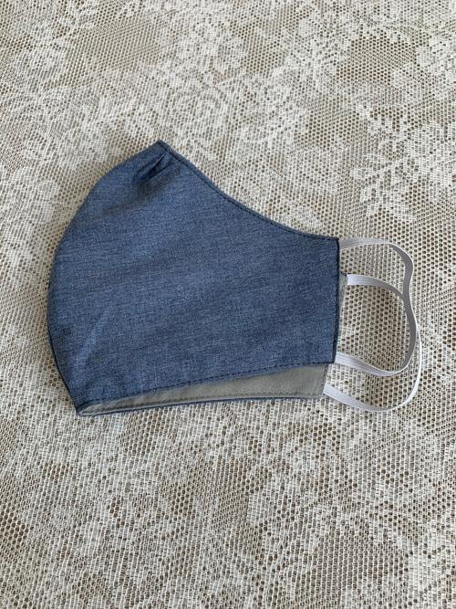 Large Blue Cloth Face Mask