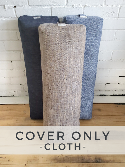 Cloth Long & Lean Bolster - Cover Only -