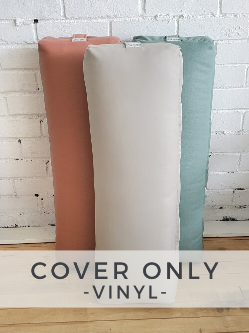 Vinyl Long & Lean Bolster - Cover Only -