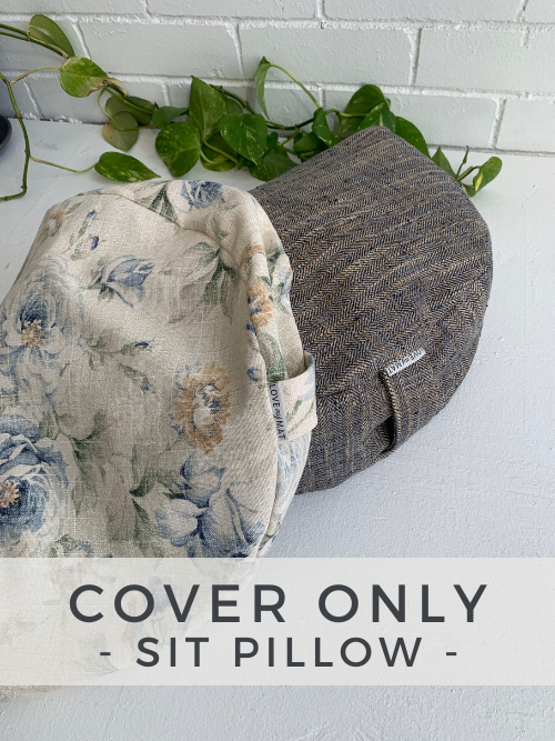 Sitting Pretty Pillow - Cover Only - - Love My Mat