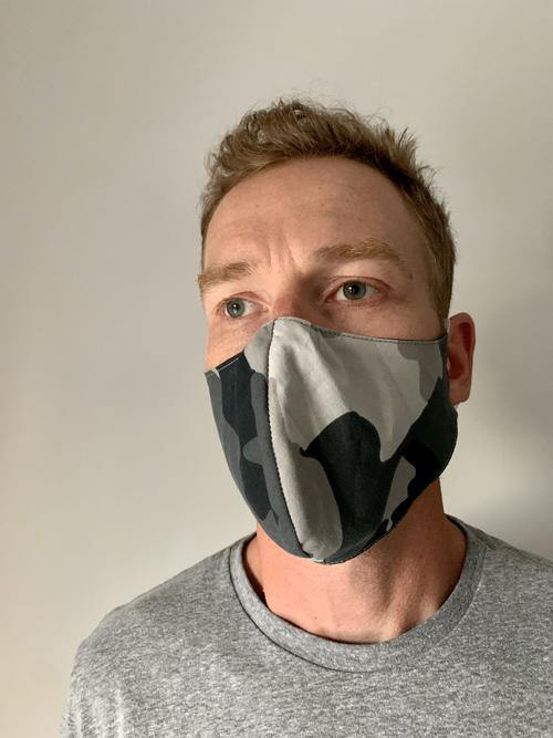 Fitted Face Masks made for men in Canada