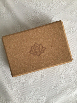 Cork Yoga Block - Love My Mat