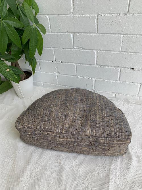 Meditation cushion to help improve posture and breathing.