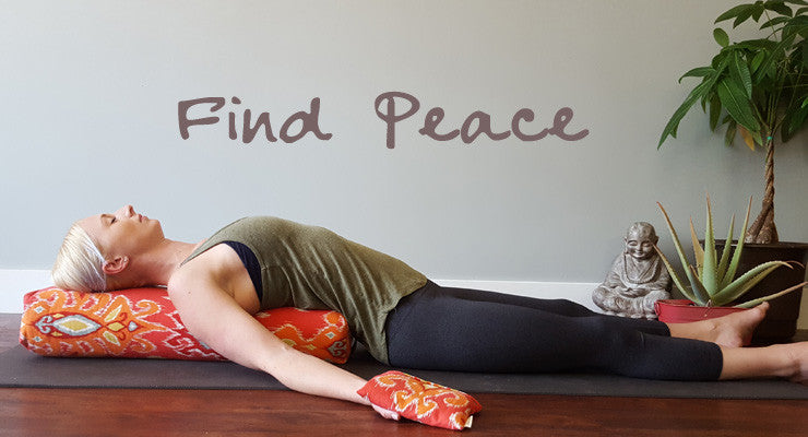 yoga props for your home