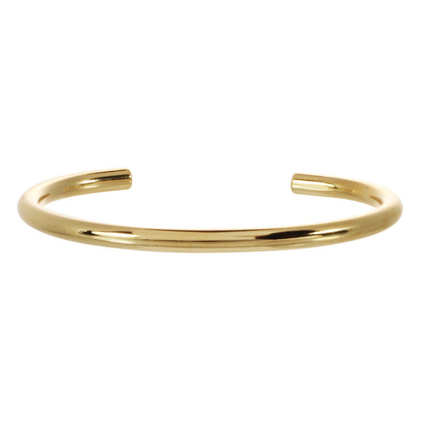 Gold Tubular Cuff - NEW ARRIVAL