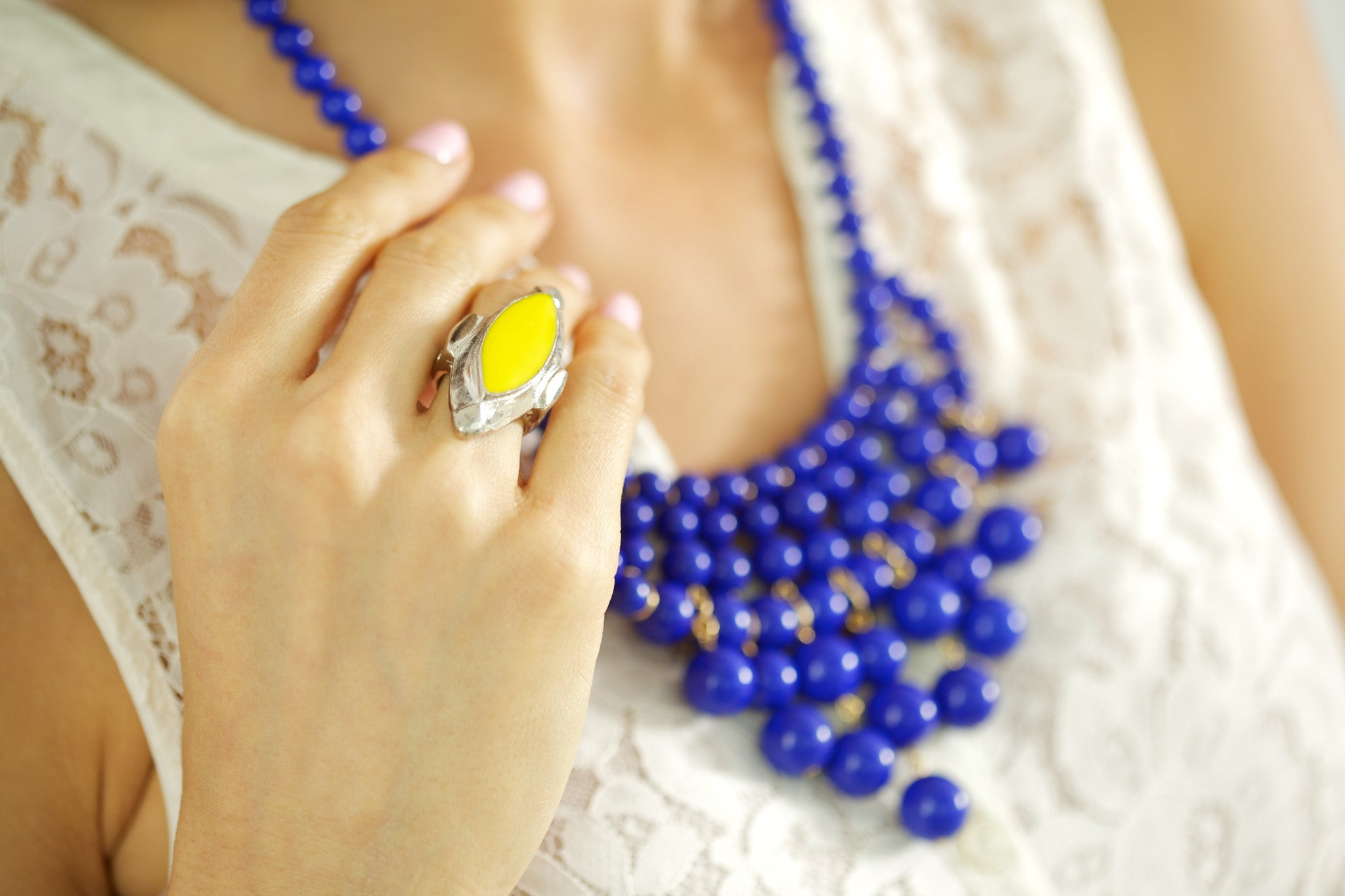 Deco Ring - Yellow