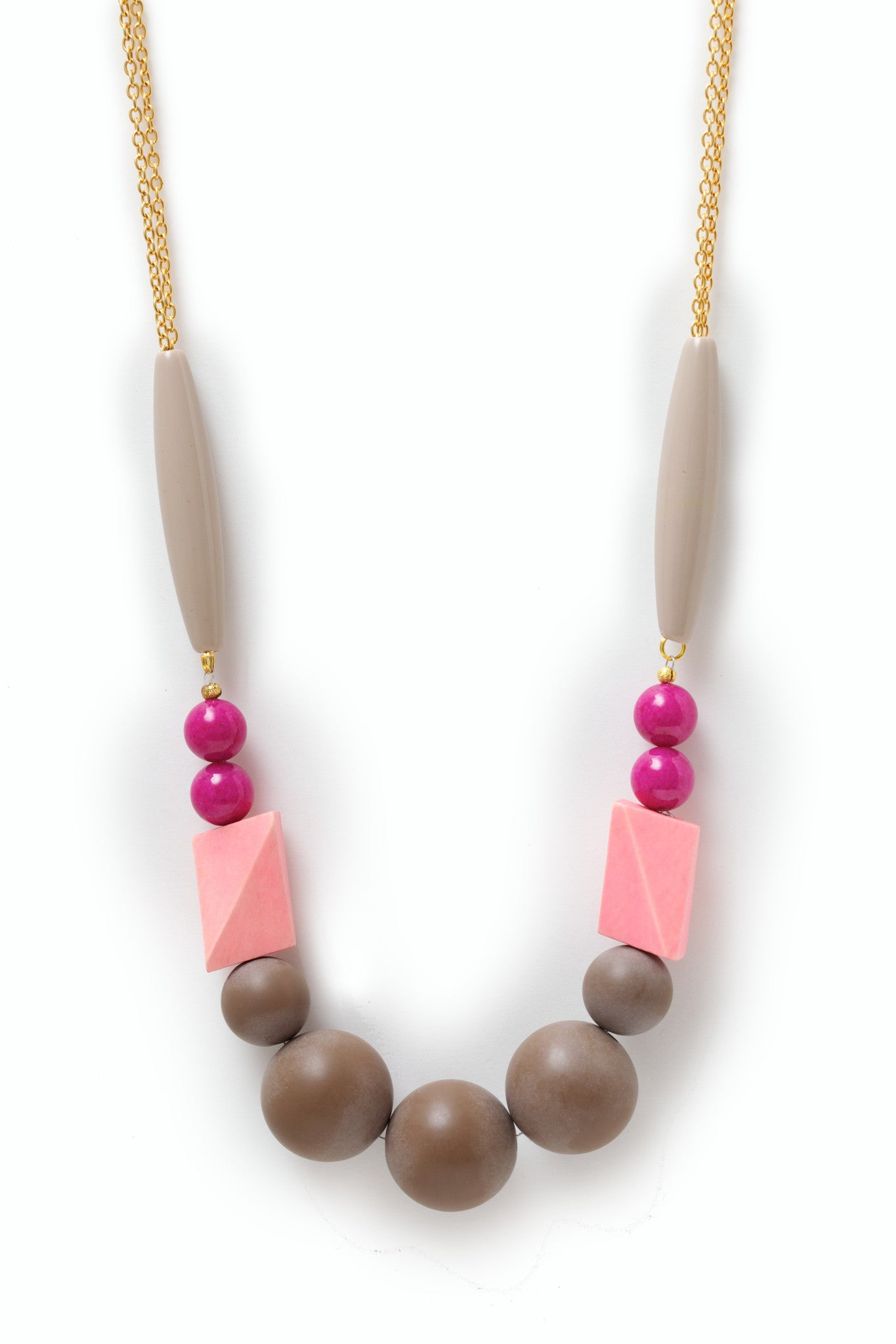 Sadie Wood Necklace