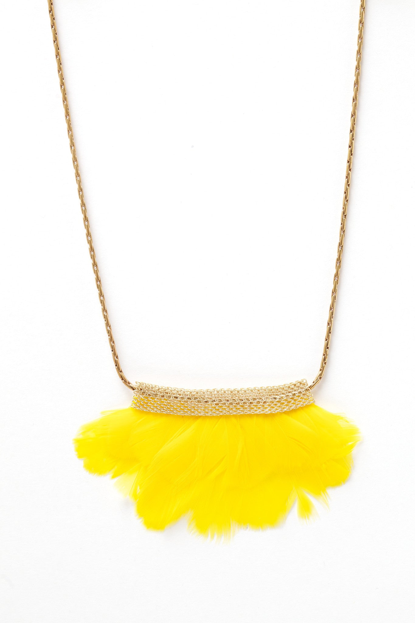 Mesh Feather Tweety Bib