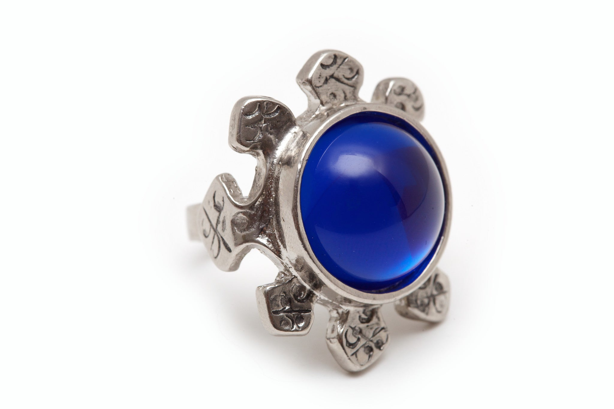 Zafir Blue Ring