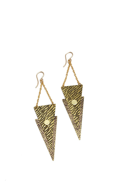 Krush Triangle Earrings