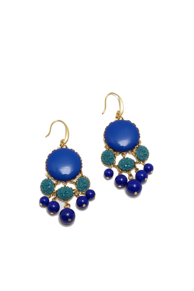 Prim Navy Earrings