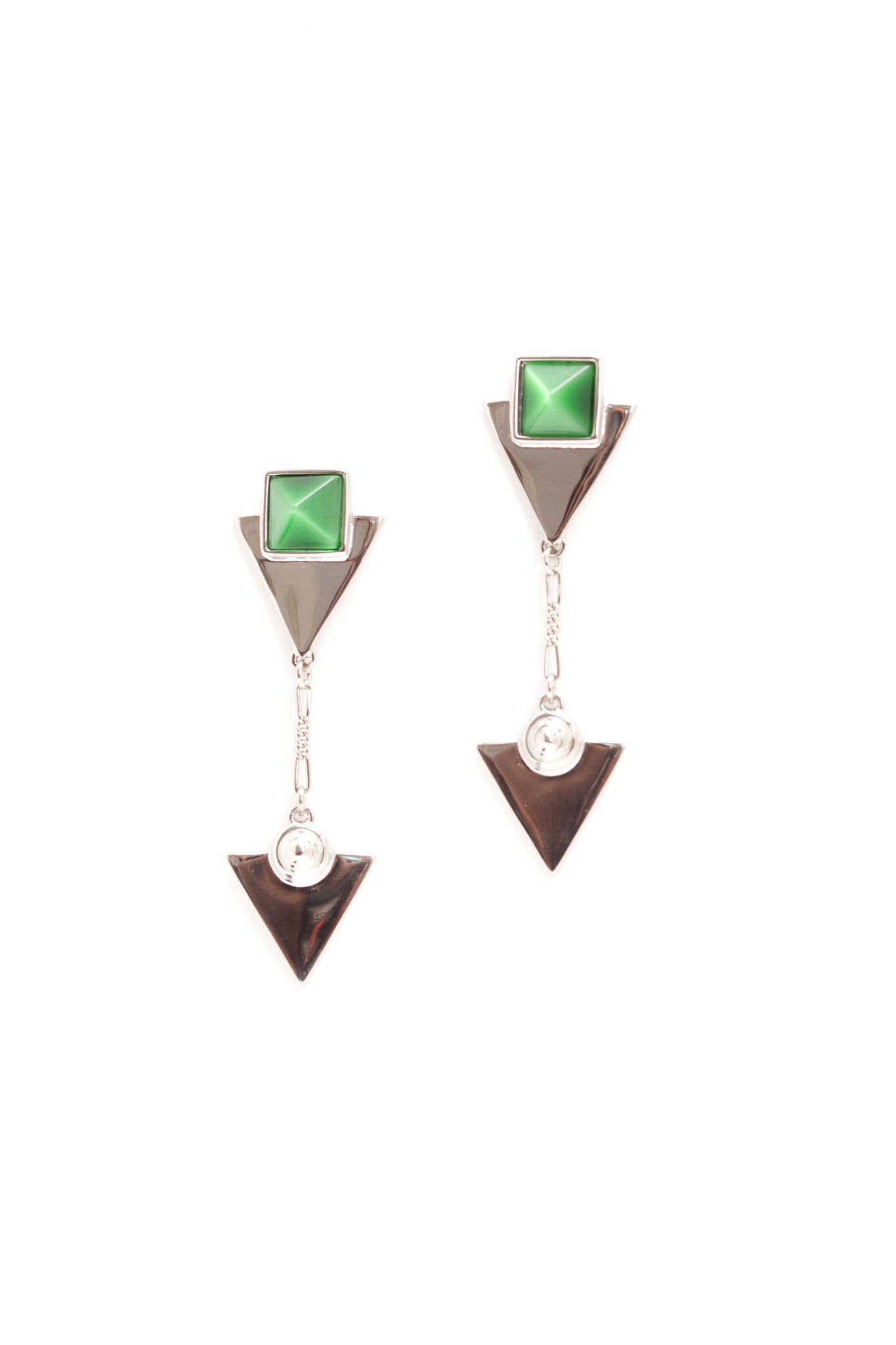 Kaba Pyramid Earrings