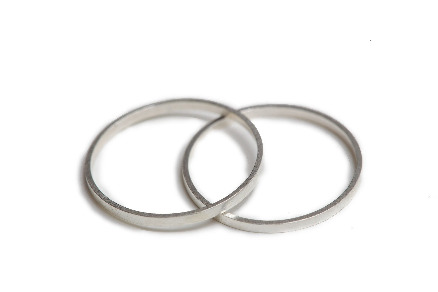 Stackable Midi Rings - Set of 2