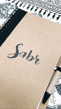 Load image into Gallery viewer, Sabr Eco Friendly Notebook