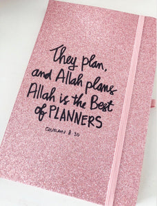 Allah (swt) plans Sparkle Notebook