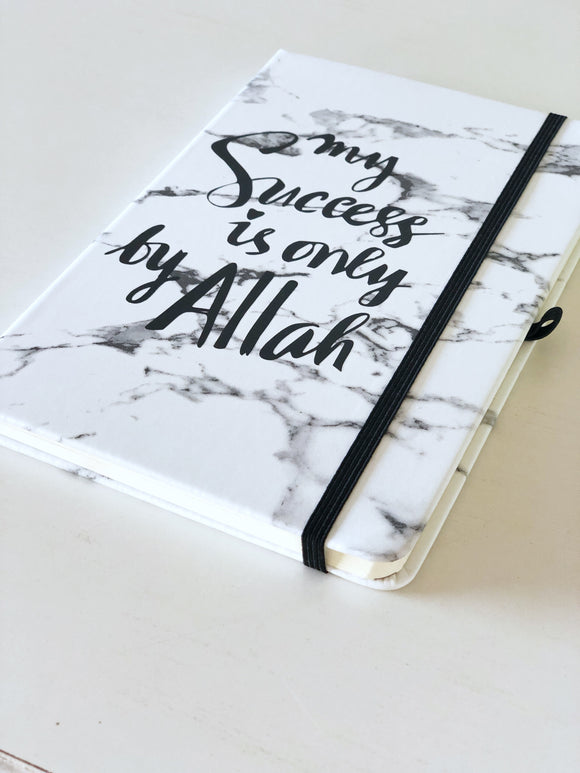 My Success Marble notebook