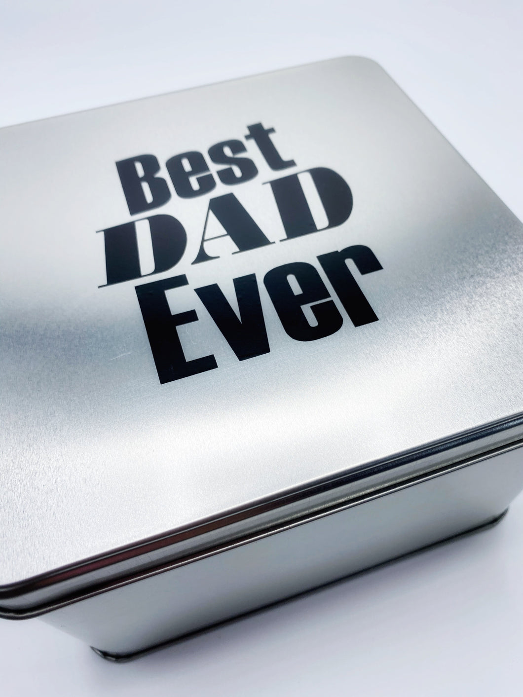 Best Dad Ever Tin Gift Set