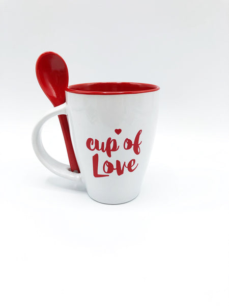 Cup of Love with Spoon