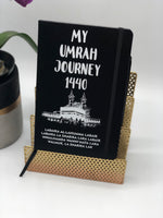My Umrah Journey 1440 Notebook Personalized