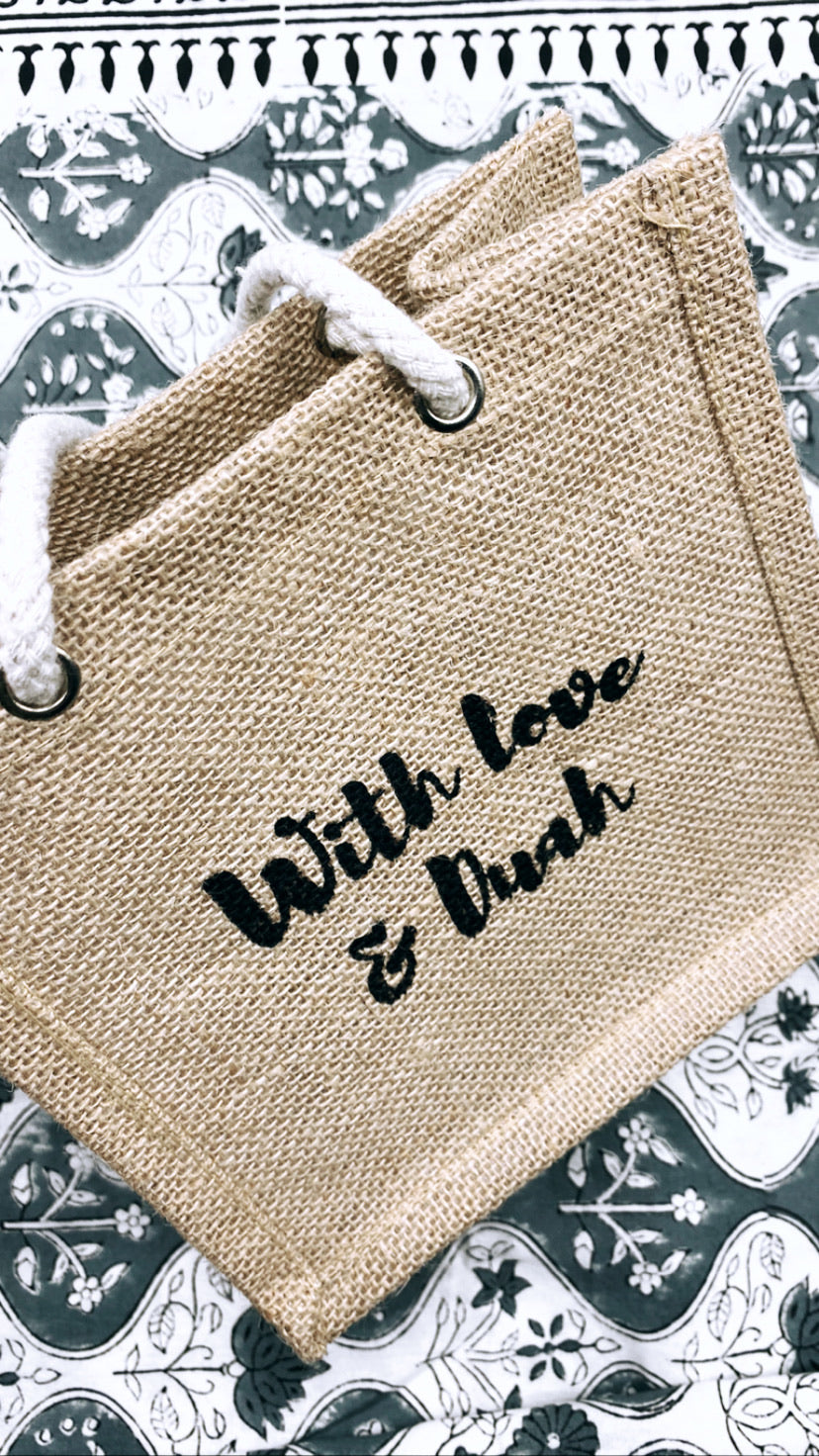 With love mini gift bag