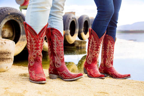 NEVADA (Red) Relaxed Fit // Old Gringo Boots L175-262RF