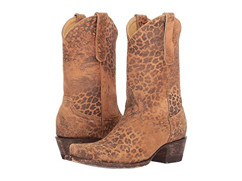 "Old Gringo Boots ""LEOPARDITO"" YP 10"" (Ochre Viejo)"