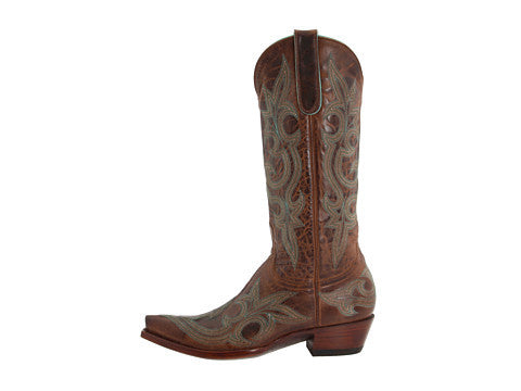 Old Gringo Boots Diego L113-13 (Rust/Turquoise) 13""
