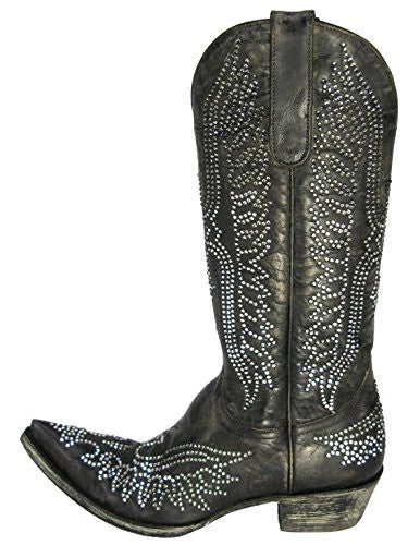 "EAGLE CRYSTAL 13"" (Vesuvio Black) // Old Gringo Boots"