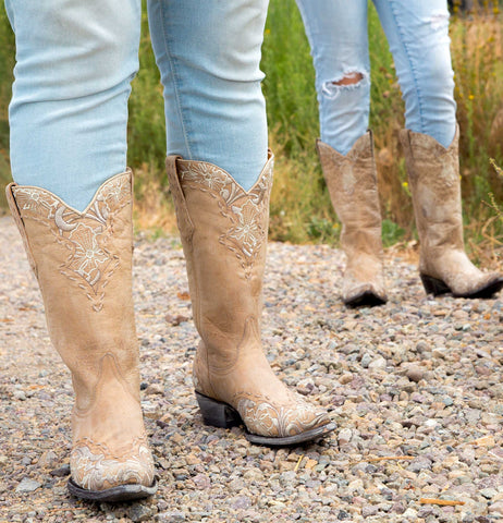 ERIN (Bone) Relaxed Fit // Old Gringo Boots L460-3RF