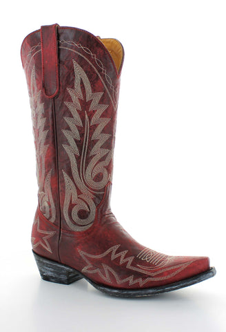 "NEVADA - Relaxed Fit - Old Gringo Boots 13"" (Red)"